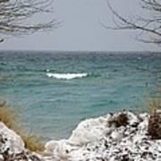 Lake Michigan In December Poster