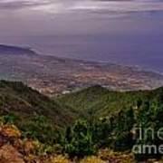 Landscape Amazing Colors Mountains Poster