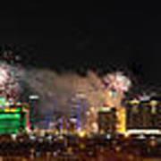 Las Vegas Fireworks Poster