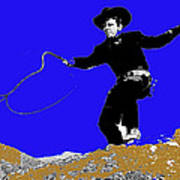 Lash Larue Bull Whip Publicity Photo Poster