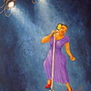 Latina Jazz Diva Poster