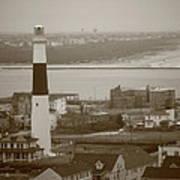 Lighthouse - Atlantic City Poster