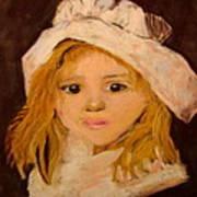 Little Girl Poster by Joseph Hawkins