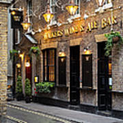 London Pub Poster