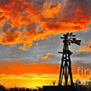 Lubbock Skyline Poster by GCannon