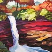 Minnehaha Falls II Poster