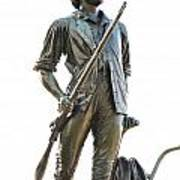 Minute Man Statue Concord Massachusetts Poster by Staci Bigelow