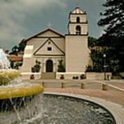 Mission San Buenaventura Poster