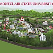 Montclair State University Poster by Rhett and Sherry  Erb