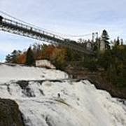 Montmorency Waterfall  Canada Poster