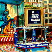 Montreal International Jazz Festival Poster