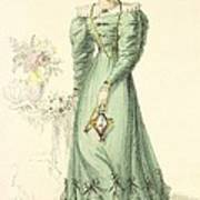 Morning Dress, Fashion Plate Poster