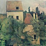Moulin De La Couleuvre At Pontoise Poster