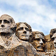 Mount Rushmore Monument Poster