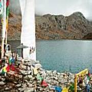 Mountain Lake Gosaikunda Nepal Poster