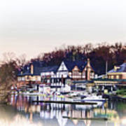On Boathouse Row Poster