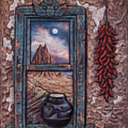 New Mexico Window Poster