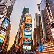 New York City - Times Square Poster