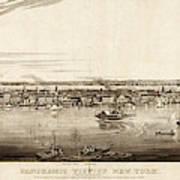 New York City, 1840 Poster