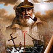 News  Map Captain 5 Or  Sea Captain Poster