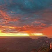 North Rim Grand Canyon National Park Arizona Poster