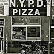 N.y.p.d. Pizza Poster