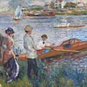Oarsmen At Chatou Poster