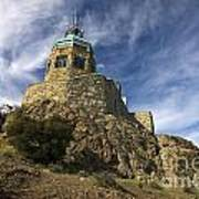 Observation Tower Mount Diablo State Park Poster