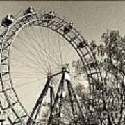 Old Ferris Wheel Poster
