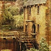 Old Mill In Arkansas Poster