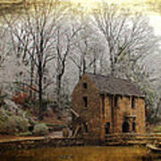 Old Mill Poster