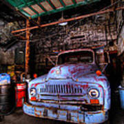 Old Pickup Truck Hdr Poster