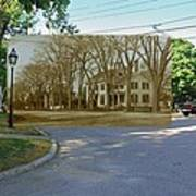 Oliver C. Brownell House On The Commons In Little Compton Rhode Island Poster