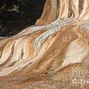 Orange Spring Mound At Mammoth Hot Springs Poster