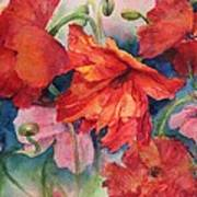 Oriental Poppies Poster