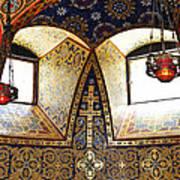 Orthodox Church Interior Poster