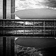 Oscar Niemeyer Architecture- Brazil Poster