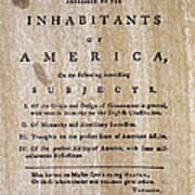 Paine: Common Sense, 1776 Poster by Granger