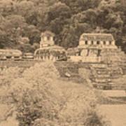 Palenque City Poster
