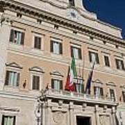 Parliament Building Rome Poster