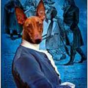 Pharaoh Hound Art Canvas Print Poster