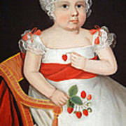 Phillips' The Strawberry Girl Poster