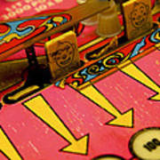 Pinball Machine Poster by Bernard Jaubert
