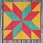 Quilting The Barn  Poster