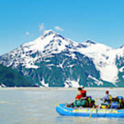 Rafters On The Alsek River Poster