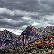 Red Rock Canyon - Las Vegas Nevada Poster