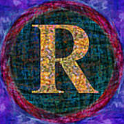 Registered Trademark Symbol Poster