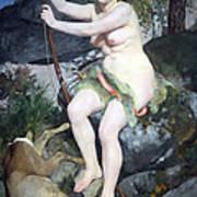 Renoir's Diana Poster