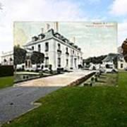 Richard Gambrell Residence In Newport Rhode Island Poster