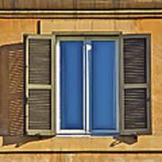 Roman Window Poster